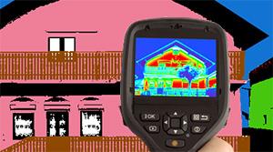 Тепловизор для зданий