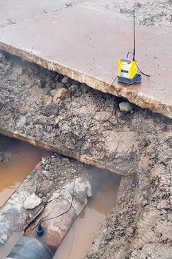 Поиск утечки воды в Санкт-Петербурге