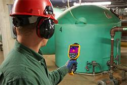Тепловизор для обследования промышленного оборудования Fluke TiS10